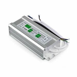 LED Trafo DC12V Transformator Netzteil Wasserdicht IP67 f. LED Strip 10-350W DHL