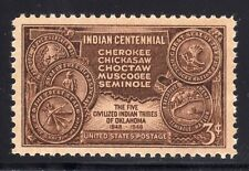 US STAMP #972 --- 3c INDIAN CENTENNIAL - XF - MINT - GRADED 90