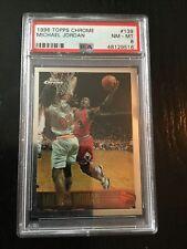1996 Topps Chrome MICHAEL JORDAN NBA PSA 8 NM-MT