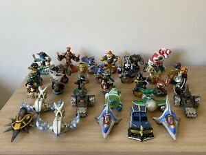 Mixed Lot Of 30 Skylander Figures - Supercharger, Swap Force, ETC - As Is