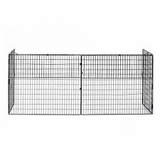 HOMCOM Fireguard Fire Safe Guard Extending Fireplace Wire Mesh Cover