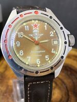 Vostok Komandirskie Military Russian Mechanical Watch Commander #0945