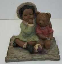Martha Holcombe African American All God's Children Figurines Tansy Tedi #90