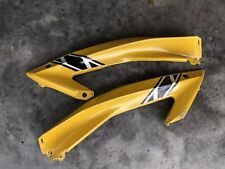 2006 2007 Yamaha R6 OEM Left Side Yellow Upper Mid Fairing Cowling 06 07 Right
