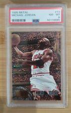 1995-96 Metal Michael Jordan #13 (PSA 8 NM -MT)