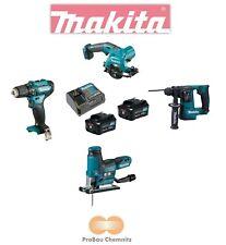 Makita 12 V Batterie Set df333dz + hs301dz + jv102dz + hr140dz Incl. 2 batteries + 1 LG