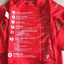 New Rescue Rashie For Kids Size 2 Life Saver Red Made In Australia