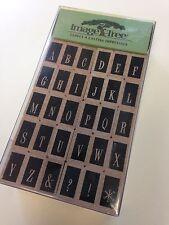 EK Success Image Tree Swanky Upper Alphabet Rubber Stamps - ITABC6 - NEW