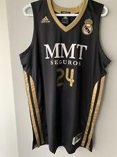 SERGE IBAKA REAL MADRID BASKETBALL JERSEY TORONTO RAPTORS NBA