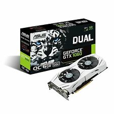 Asus nVidia GeForce GTX 1060 Dual OC 6GB GDDR5 Gaming Graphics Video Card HDMI