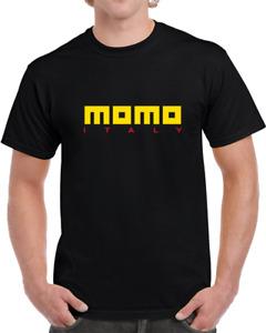 Momo Wheel T-Shirt VARIOUS COLOURS & SIZES Motor Sports Racing Car Enthusiast