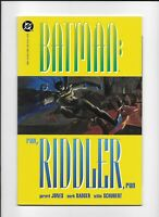 Batman: Run Riddler, Run Book 2 TPB Trade Graphic Novel NR-MINT Cond DC COMICS