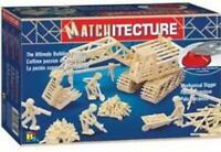 Matchitecture - 6641 - Jeu de Construction - Mechanical Digger / Pelle Mécanique