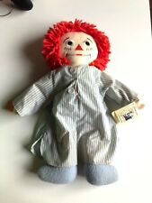 "17"" Raggedy Andy Sleepy time Applause Plush doll, pajamas Bedtime New with Tags"