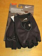 Nike Mens Fundamental Training Gloves Half Finger Black XL