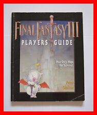 FINAL FANTASY III PLAYER'S GUIDE! PAPERBACK BY OLAFSON! SNES STRATEGY NINTENDO 3