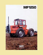 Massey Ferguson MF 1250 Allradschlepper Knicklenker Original