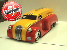 1939 DODGE AIRFLOW TANKER 1:24 SCALE DIE-CAST METAL SHELL  COLOUR RED