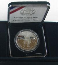 1992 PROOF  SILVER DOLLAR COLUMBUS QUINCENTENARY COIN  WITH BOX/COA