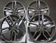 """18"""" roues en alliage convient audi A3 S3 A4 S4 A6 Q3 Q5 tt roadster gmf"""