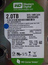 2tb western digital WD 20 ears - 00j99b0 | DCM: hanchv 2abb | 02 jul 2011