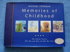 MEMORIES OF CHILDHOOD * MICHAEL FOREMAN * SIGNED NUMBERED LIMITED ED HCDJ 2000