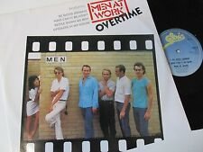 """Men At Work-Overtime-TA4119-Vinyl-12""""-Single-Record-1980s"""