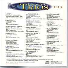 rare BOLERO 60s 70s CD slip TRIOS 3 Diamantes PANCHOS Hermanos Martinez Gil ASES