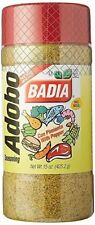 Badia Adobo seasoning with Pepper for Meat Seafood Poultry (con Pimienta) 15 oz