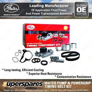 Gates Water Pump & Timing Belt Kit for Subaru Outback Liberty Forester SG