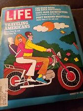 Life Magazine August 14 1970 Traveling Americans