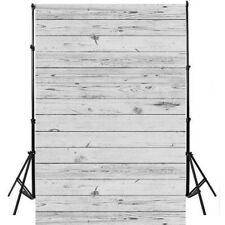 3*5ft White Wood Wall Photography Background Photo Backdrop EAGAB GZAB1