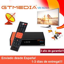 Receptor de Satélite Gtmedia V8 Nova DVB-S2 H.265 WiFi FTA incorporado en Youtub