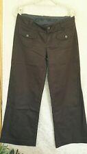 Tolle Jeans Hosen von ESPRIT / Gr. 36-38 ;  M / Dunkelbraun Schoko / Weites Bein