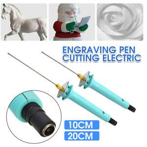 Electric Cutter Pen Foam Polystyrene Hot Wire Styrofoam Cutting Pen Tool Set UK