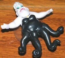 Disney Little Mermaid Ursula Suction Cup Rubber Figurine For Refrigerator & More