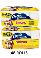 Charmin Essentials Strong Toilet Paper Bath Tissue Giant Roll 24 Count
