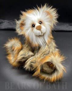 Golden Bark a 10-11 inch Capability Artist Bear by Carol's Bears of Bath