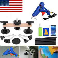 Paintless Hail DIY Repair Tools Dent Puller Bridge Glue Gun Auto Body Removal