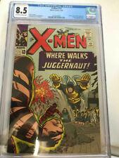 X-MEN #13 CGC 8.5  OW/WH PAGES  2ND JUGGERNAUT