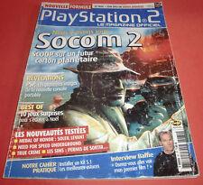 Playstation 2 Magazine [n°81 Déc 2003] PS2 Two Socom 2 PSP  *JRF