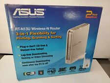 ASUS RT-N13U   Wireless N Router WIth Printer Server