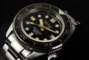 Sharkey SBDX001/017 Tuna Diver Automatic Wristwatch  SS Band Gold MM