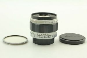 [N MINT] Canon 50mm F1.4 MF L39 Mount for LTM Leica Lens Screw w/ Filter JAPAN