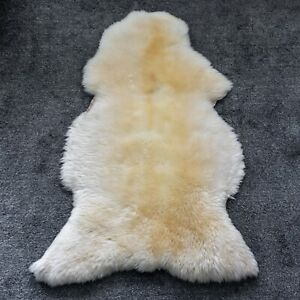 Sheepskin Rug Cream&Ivory 115 CM NEW!