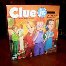 Clue Jr. - The Case of the Hidden Toys - Game Specially Designed for Ages 5-8