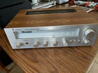 VINTAGE SHERWOOD S7150 CP  AM/FM STEREO RECEIVER  for parts or repair