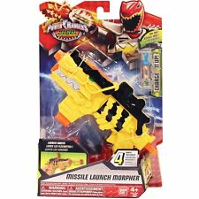 Power Rangers Dino super charge missile launch morpher  new in sealed packaging