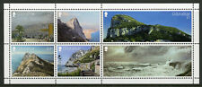 Gibraltar 2018 MNH Views from Rock SEPAC 6v M/S Landscapes Mountains Stamps