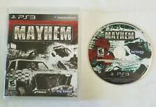 Mayhem (Sony PlayStation 3, 2011) PS3  GAME + case (No 3D Glasses)